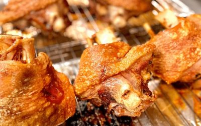 Lion's Head Recipe for the Best Roast Pork Knuckle (Schweinshaxe)