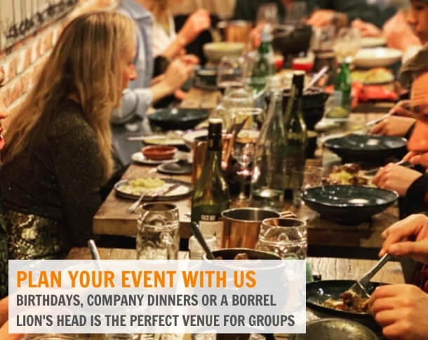 Lion's Head Restaurant and Brewery Events and Groups