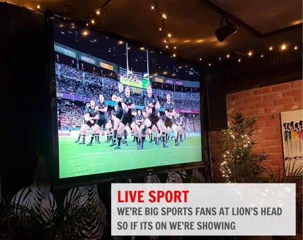 Lion's Head Restaurant and Brewery Live Sports